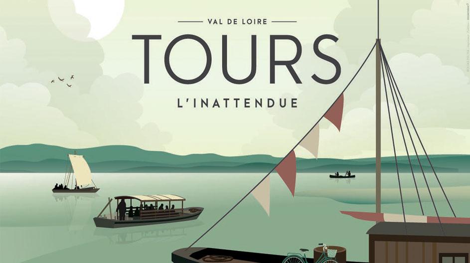 La campagne estivale «Tours l'Inattendue»