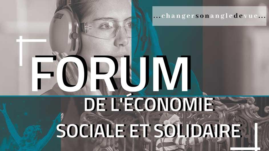 Forum de l'économie sociale et solidaire à Amboise