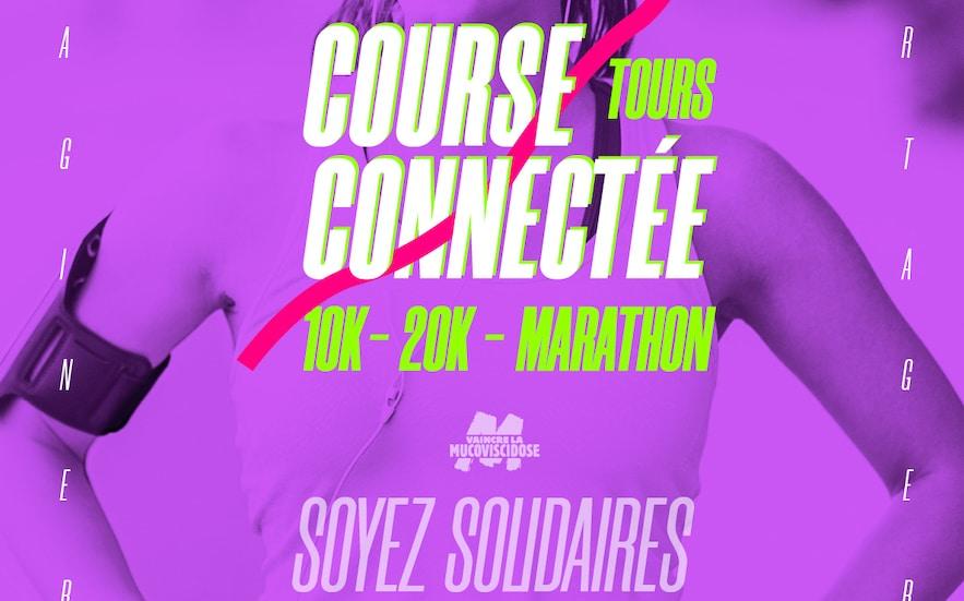 Les 10 et 20 km de Tours édition 2020 … Une course virtuelle et solidaire absolue !
