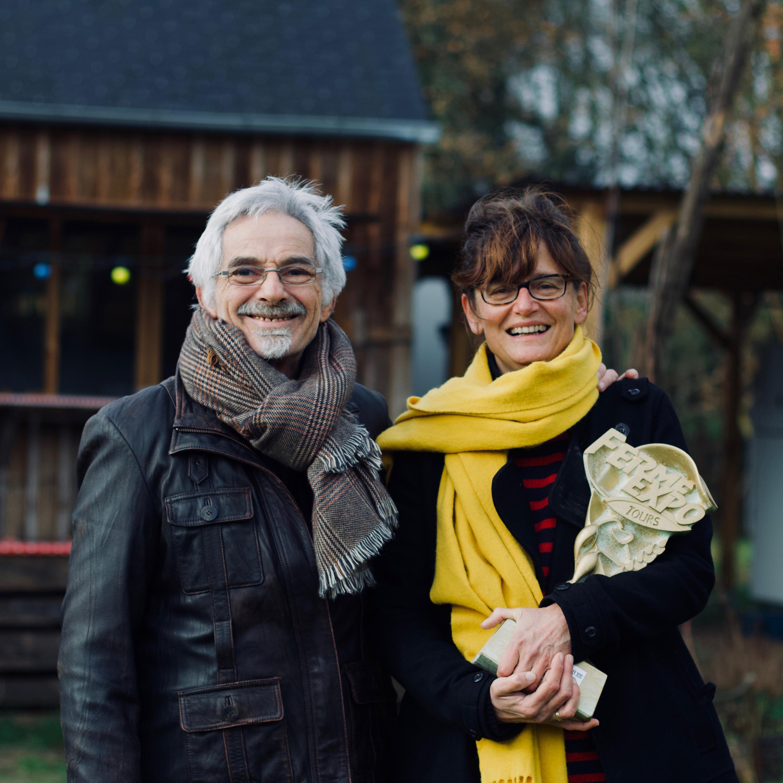 Bernard Cauvin et Marie Holst